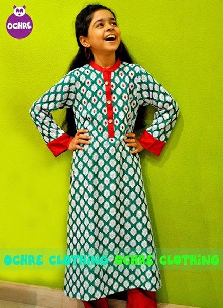 Ochre Clothing Winter Dresses 2014 For Kids 005