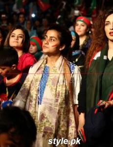 PTI Darna In Karachi, Celebrities is here 11