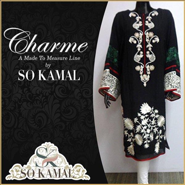 So Kamal Casual Wear Dresses 2014 For Women 0013