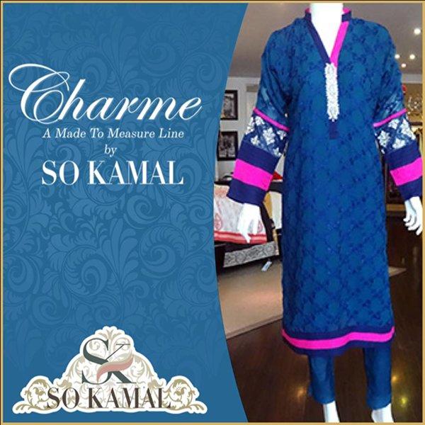 So Kamal Casual Wear Dresses 2014 For Women 0014