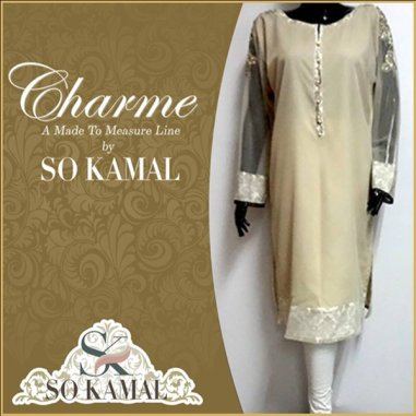 So Kamal Casual Wear Dresses 2014 For Women 0015