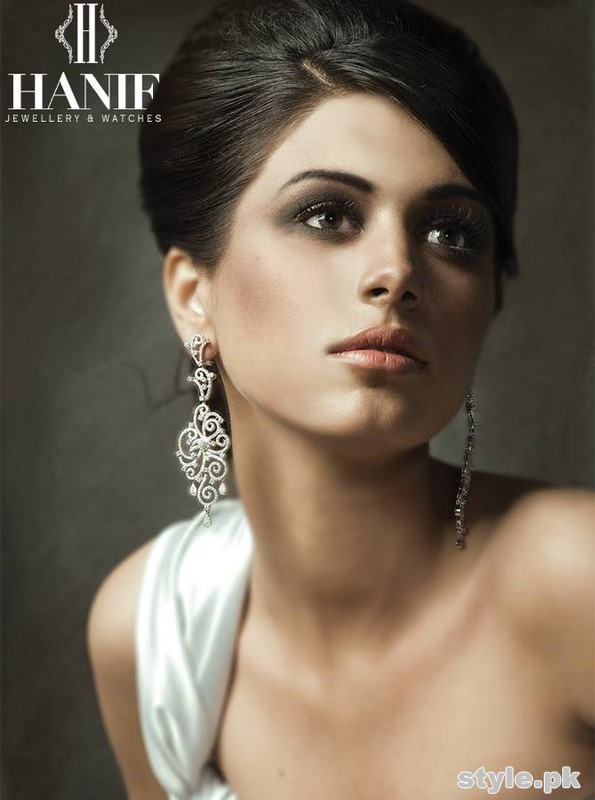Hanif Jewellers Latest Jewellery Collection 2015 For Women 2