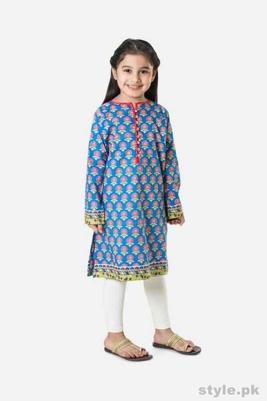 Khaadi Casual Dresses 2015 For Kids 9