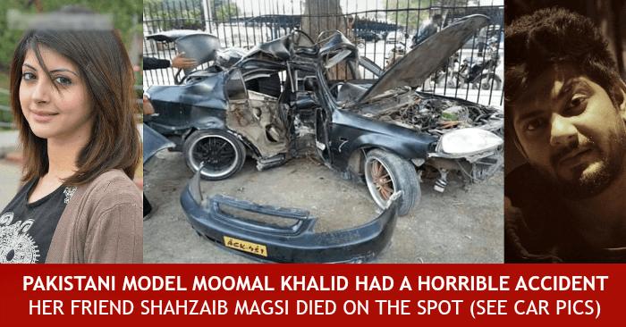 Pakistani Actress Moomal Khalid Accident Fiance Died