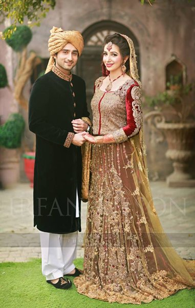 Pakistani Baraat Dresses 2015 For Girls 007