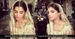 sanam saeed wedding