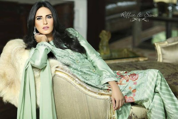 Sana Salman Summer Collection 2015 For Women 002