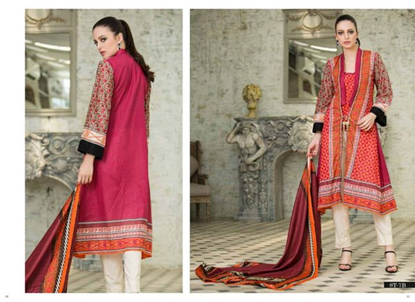 Shariq Textiles Subhata Prints Collection 2015 For Women 004