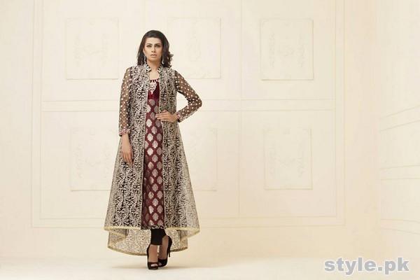 Zainab Chottani Pret Wear Dresses 2015 For Girls 1