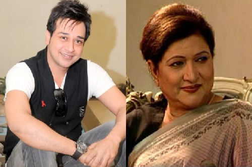faisal qureshi with mother afshan qureshi