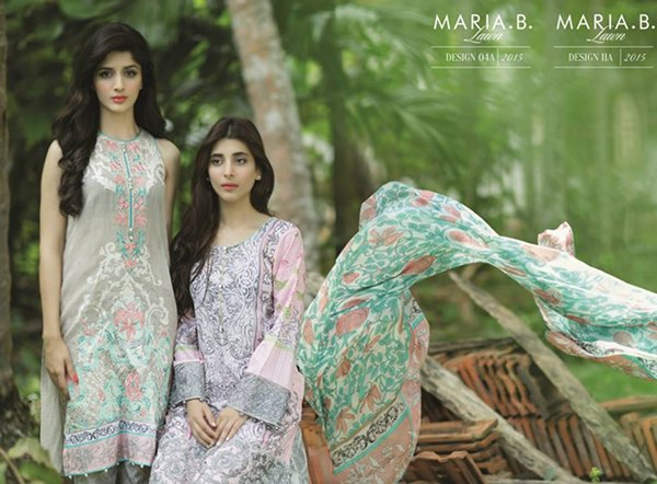 Maria B Lawn Collection 2015 For Women 0015
