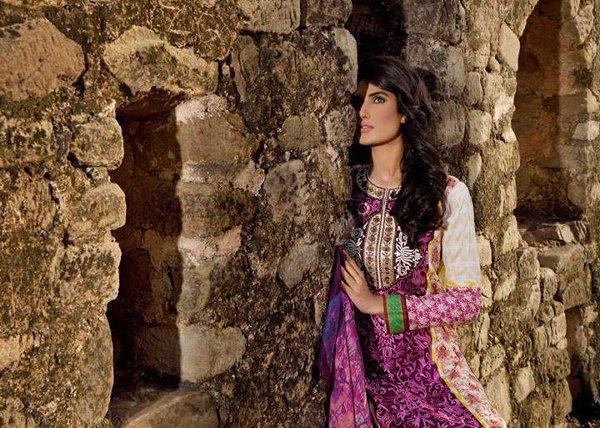 Mehdi Lawn Collection 2015 By Al Zohaib Textile 0013