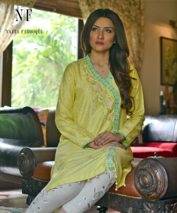 Nadia Farooqui Spring Collection 2015 For Women