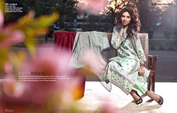 Orient Textiles Lawn Collection 2015 For Women 0011