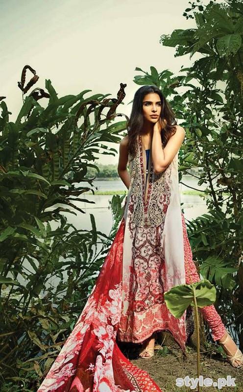 So Kamal Lawn Dresses 2015 By Ayesha Hashwani 12