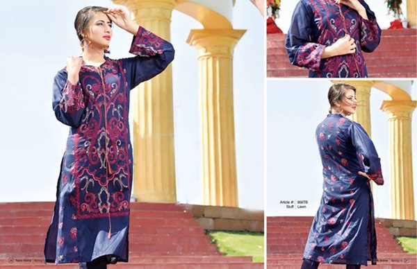 Taana Baana Lawn Collection 2015 For Women 004