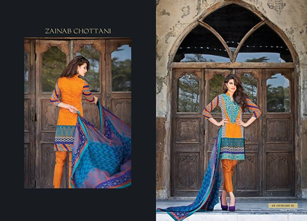 Zainab Chottani Summer Collection 2015 For Women 0017