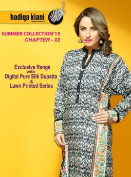 Hadiqa Kiani Fabric World Lawn Collection 2015 Volume 2 For Women 006