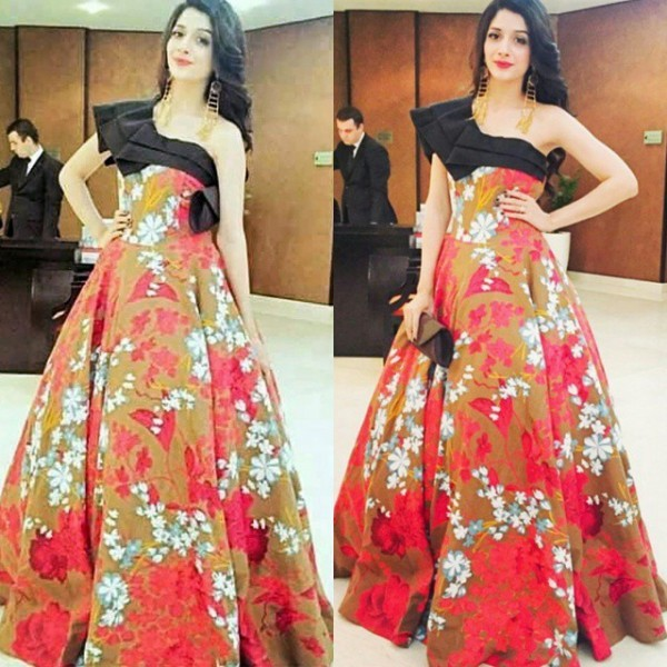 Mawra Hocane at hum awards 2015