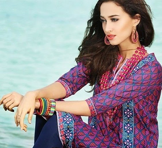 Rang Ja Lawn Collection 2015 For Women 001