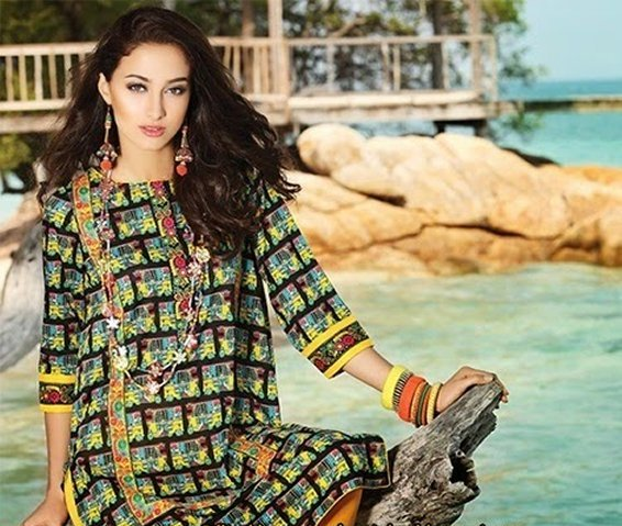 Rang Ja Lawn Collection 2015 For Women