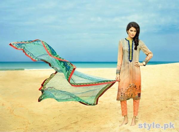 Sania Maskatiya Lawn Dresses 2015 For Summer 14