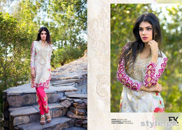 Erum Khan Formal Wear Dresses 2015 For Summer 4