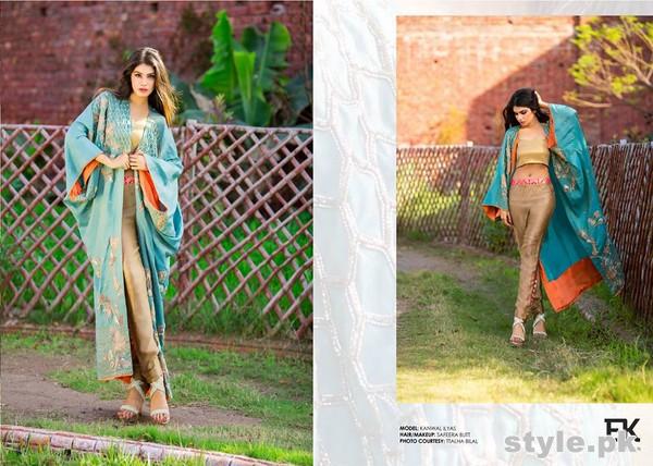 Erum Khan Formal Wear Dresses 2015 For Summer 6