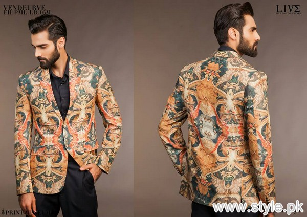 Fahad Hussayn Menswear Dresses 2015 For Midsummer 1