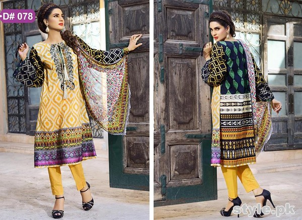 Needlez by Shalimar Lawn Dresses 2015 For Summer 3