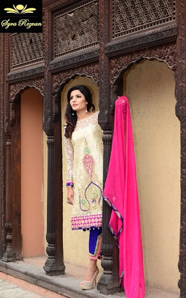 Vibgyor By Syra Eid Collection 2015 For Women007