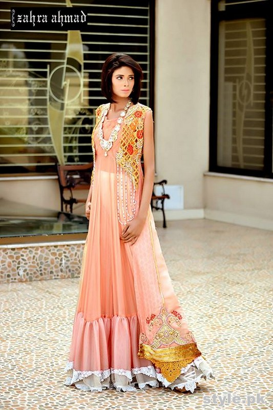 Zahra Ahmad Formal Dresses 2015 For women 3