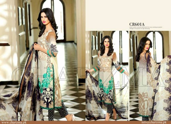 Charizma Lawn Collection 2015 Volume 2 For Women0010