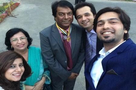 Fahad Mustafa family