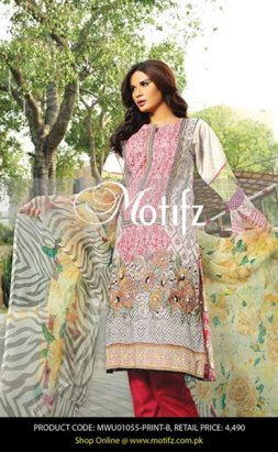 Motifz Eid Collection 2015 For Women001