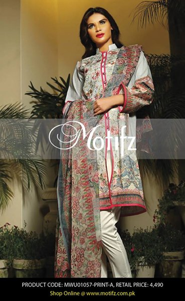 Motifz Eid Collection 2015 For Women004