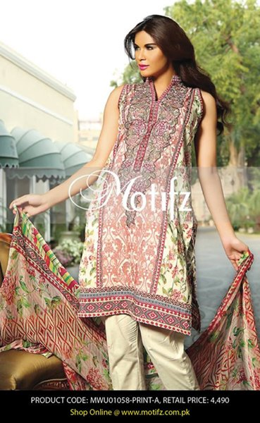 Motifz Eid Collection 2015 For Women006