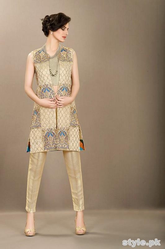 Silk by Fawad Khan Eid Dresses 2015 For Girls 5