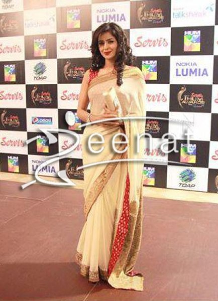 Which Pakistani Celebrities Look Beautiful In Saree006