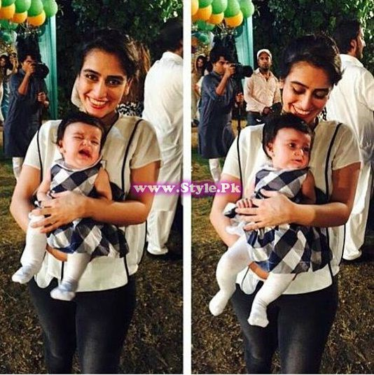Birthday celebrations of Syra and Shehroz's baby  12