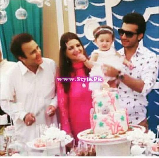 Birthday celebrations of Syra and Shehroz's baby  13