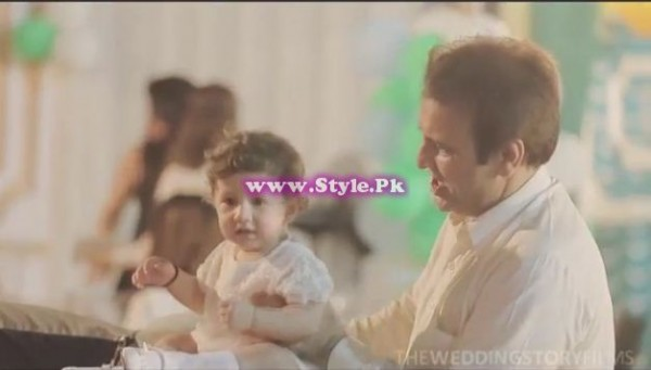 Birthday celebrations of Syra and Shehroz's baby 4