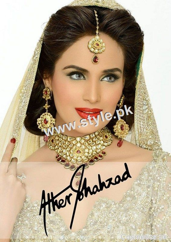 See Bridal makeup packages of famous Salons of Pakistan