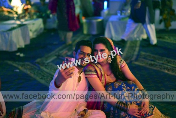 Complete Wedding pictures of Ali Gul Pir and his bride (9)