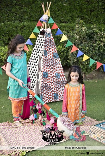 Maria B Eid Collection 2015 Volume 2 For Women And Kids001