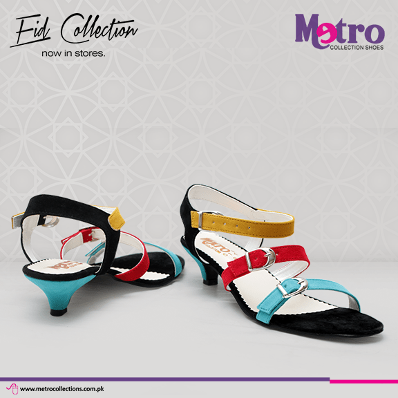 Metro Eid Footwear Collection 2015 For Women0010