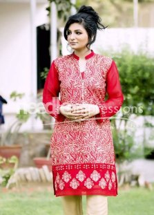 Needle Impressions Ready To Wear Eid Collection 2015 For Women003