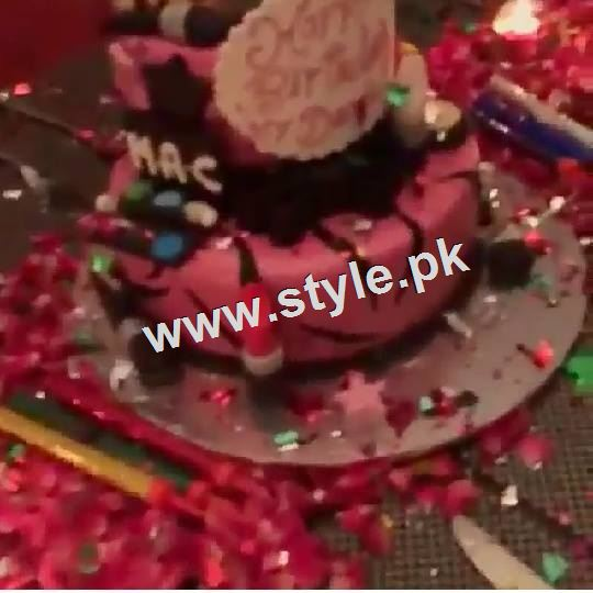 Pictures of Birthday Celebration of Maya Ali 2