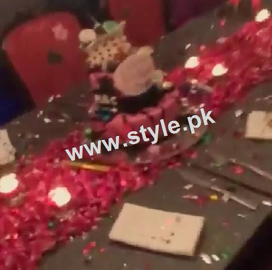 Pictures of Birthday Celebration of Maya Ali 4