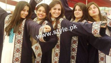 See Pictures of Pakistani Celebrities during study days